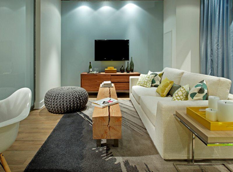 Minto 775 Condos Living Room Toronto, Canada