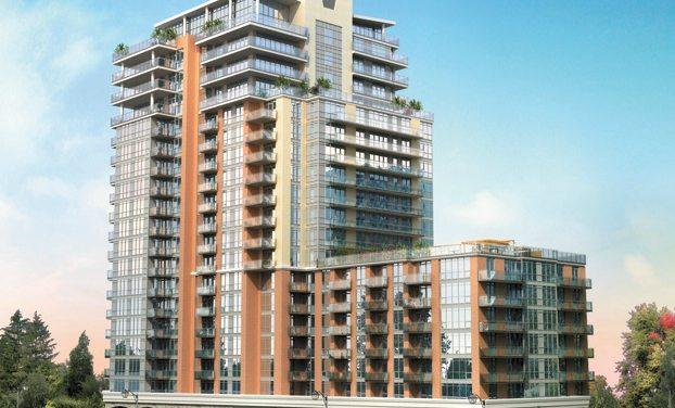 Strata Condos Building View Toronto, Canada