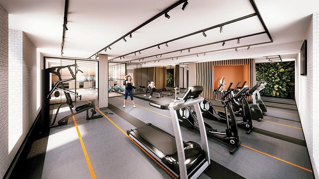 Distinction Condos Gym Toronto, Canada