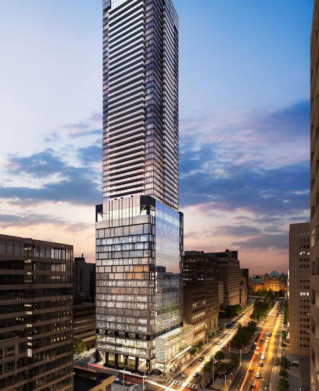 488 University Condos Building View Toronto, Canada