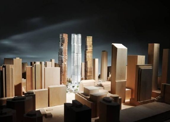 Mirvish Gehry Condos Model View Toronto, Canada