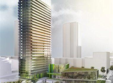 Library District Condos Building View Toronto, Canada