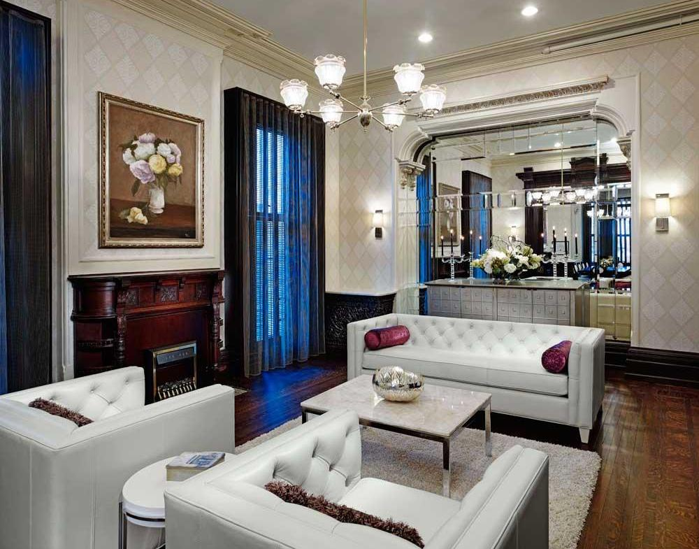 James Cooper Mansion Condos Living Area Toronto, Canada