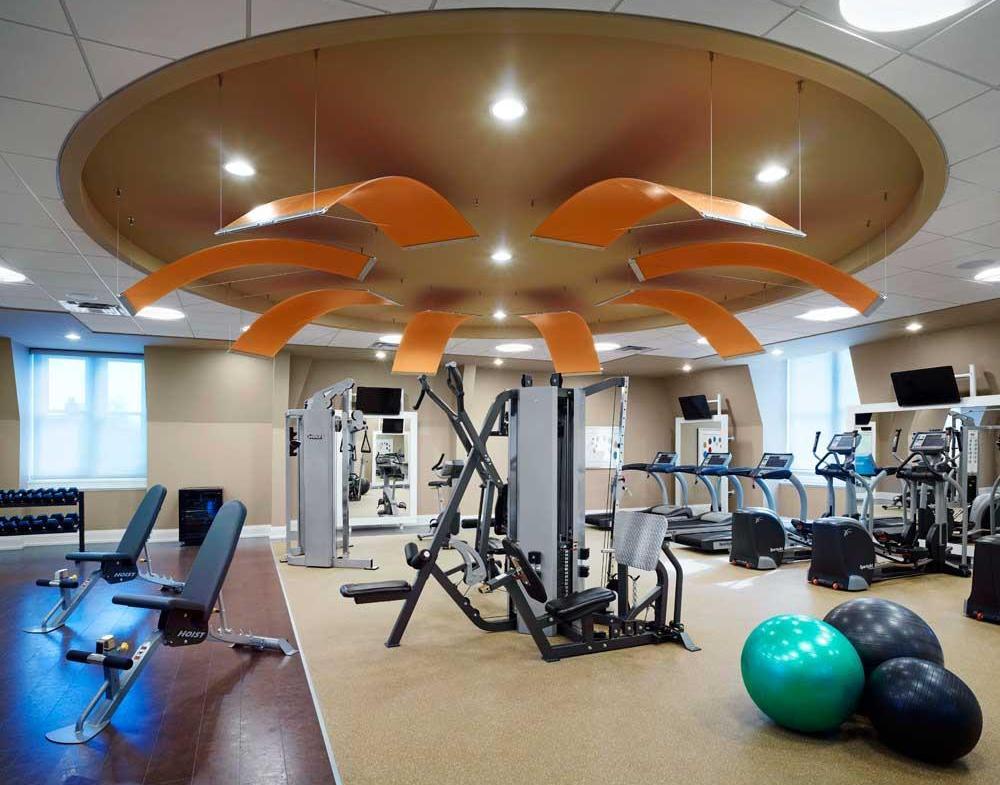 James Cooper Mansion Condos Gym Toronto, Canada