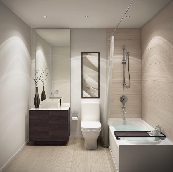 Pace Condos Bathroom Toronto, Canada