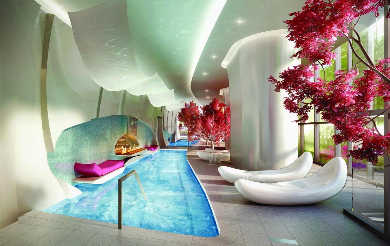 One Bloor Condos Swimming Pool Toronto, Canada