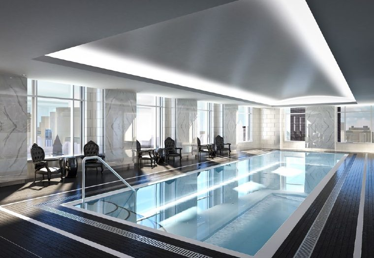 Trump Tower Condos Swimming Pool Toronto, Canada