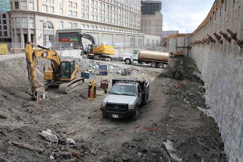 Backstage Condos Construction Toronto, Canada