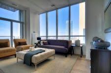 Crystal Blu Condos Bedroom Toronto, Canada