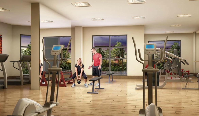 The Lexington Condos Gym Toronto, Canada