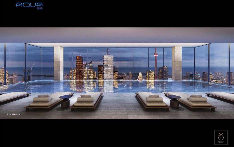 YC Condos Indoor Pool Toronto, Canada