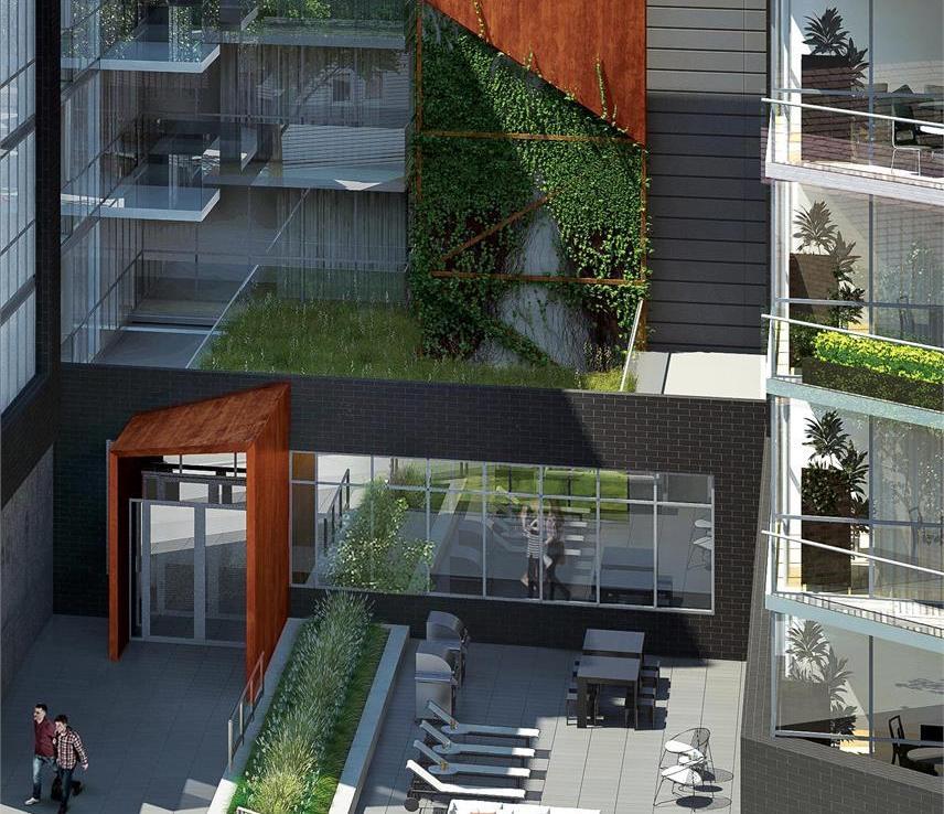 Howard Park 2 Condos Balcony View Toronto, Canada