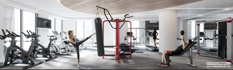 The Park Club Condos Gym Toronto, Canada