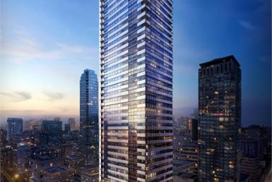 8 Cumberland Condos Building View Toronto, Canada