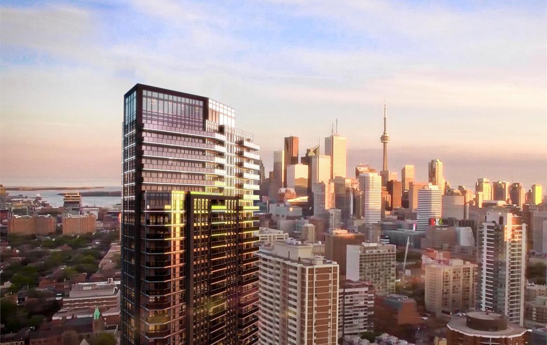 159SW Condos Building View Toronto, Canada