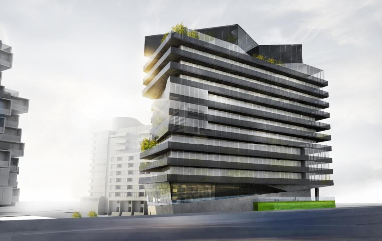 Harris Square Condos Building View Toronto, Canada