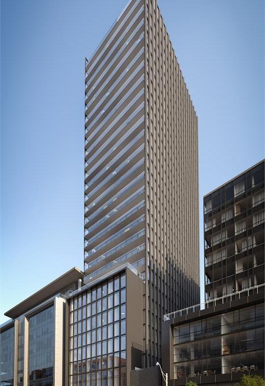 Bauhaus Condos Tower View Toronto, Canada