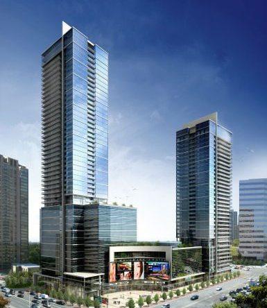 Hullmark Condos Building View Toronto, Canada