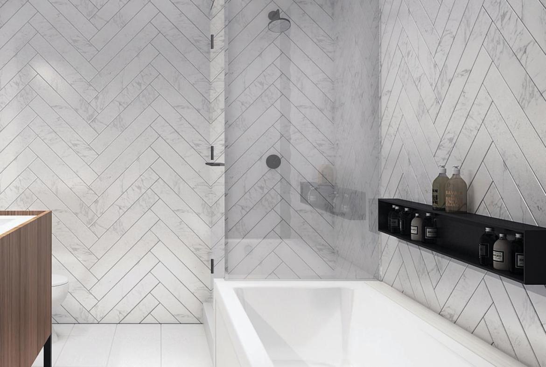 Picnic Condos Bathroom Toronto, Canada