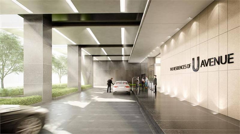 488 University Condos Entrance Toronto, Canada
