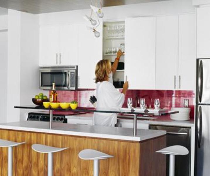M5V Condos Kitchen Area Toronto, Canada