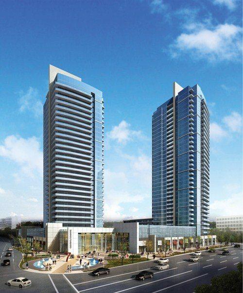 Centro Square Condos Building View Toronto, Canada