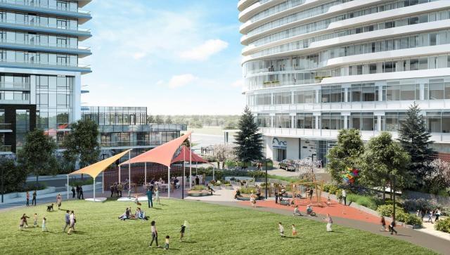 Arc Condos Play Area Toronto, Canada