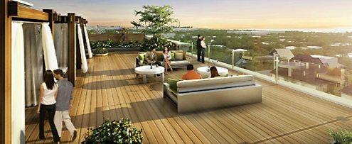 Watermark Condos Terrace Lounge Toronto, Canada