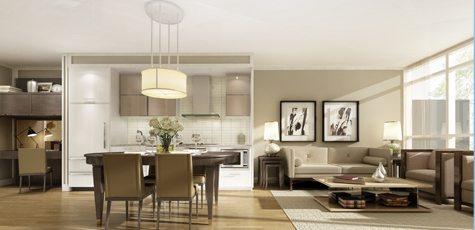3018 Yonge Condos Living Area Toronto, Canada