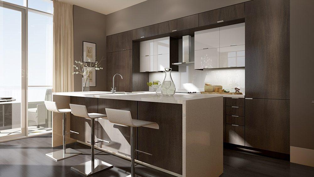 300 Front Condos Kitchen Toronto, Canada