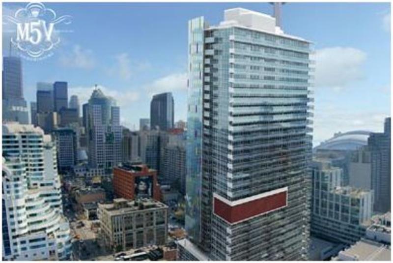 M5V Condos Building View Toronto, Canada