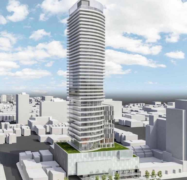 Grand Hotel Condos Building View Toronto, Canada