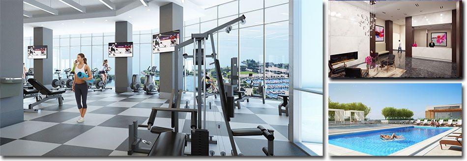 Encore Condos Gym Toronto, Canada