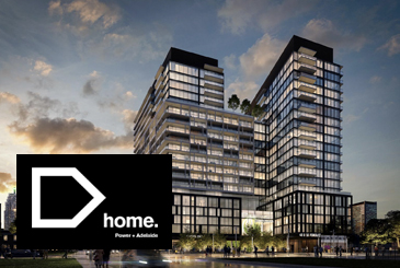 Home on Power Condos by Great Gulf and Hallmark.