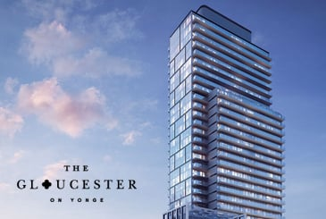 The Gloucester on Yonge Condos in Toronto by Concord