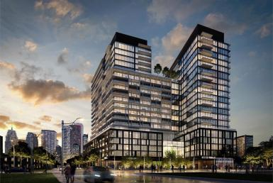 Home (Power + Adelaide) Condos Building View Toronto, Canada