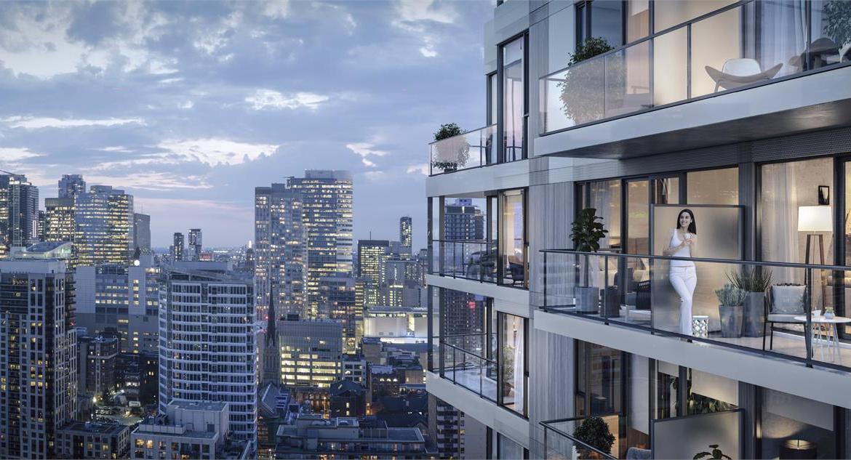 Ivy Condos Balcony View Toronto, Canada