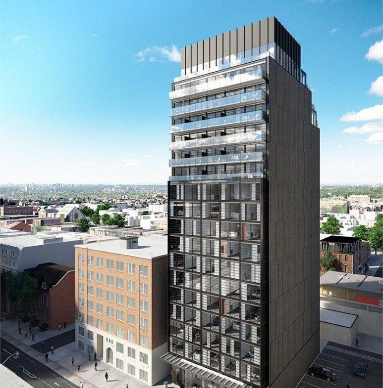 James Condos Building View Toronto, Canada
