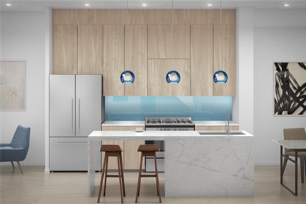 The Sterling condos Kitchen Toronto, Canada