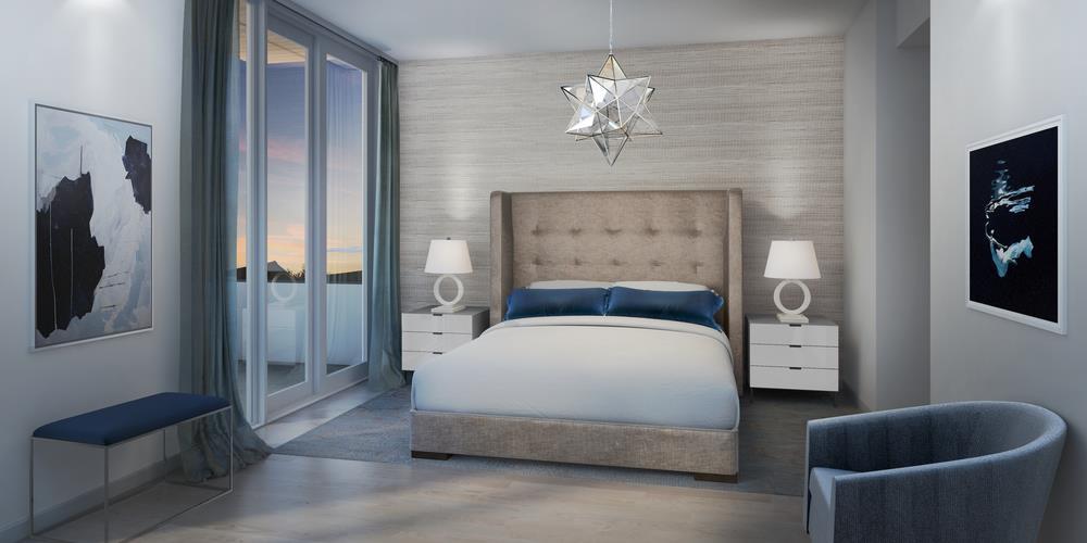 The Sterling condos Bedroom Toronto, Canada
