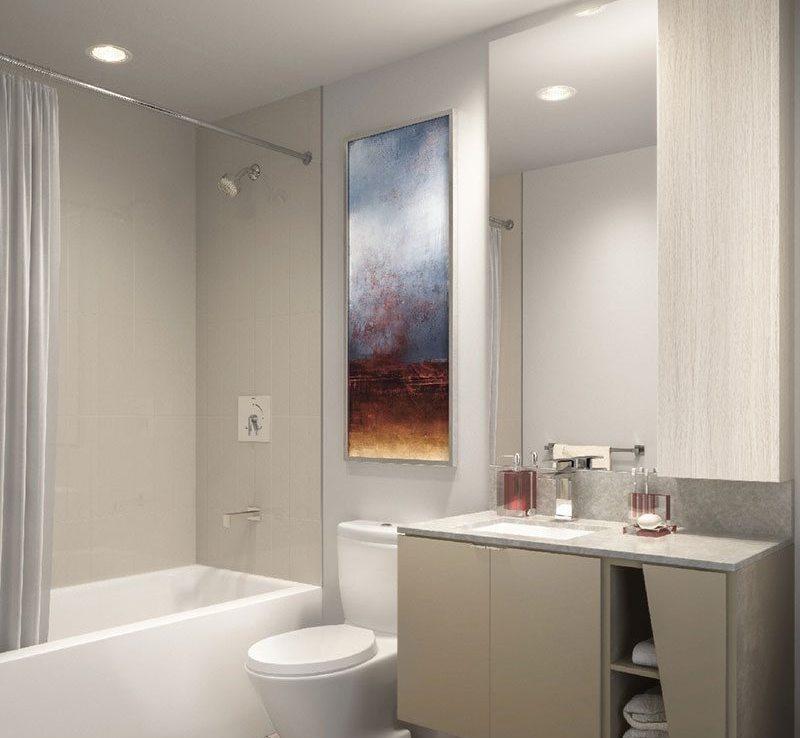 M City Condos Bathroom Toronto, Canada