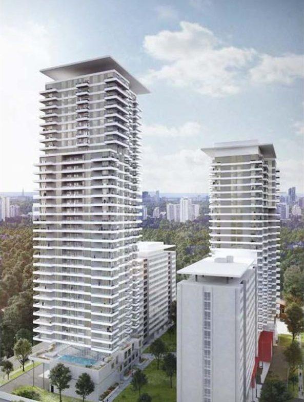 Plaza Midtown Condos Building View Toronto, Canada