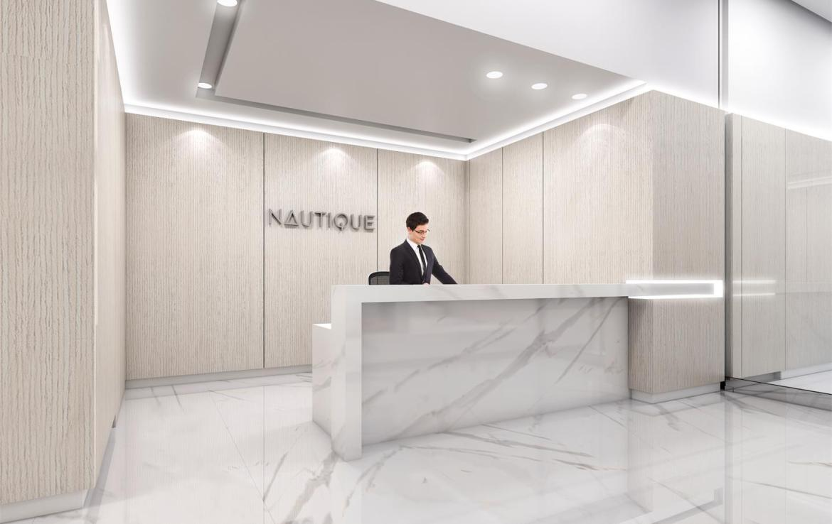Rendering of Nautique Lakefront Residences concierge