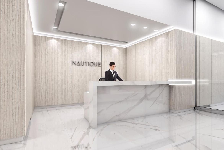 Rendering of Nautique Lakefront Residences concierge