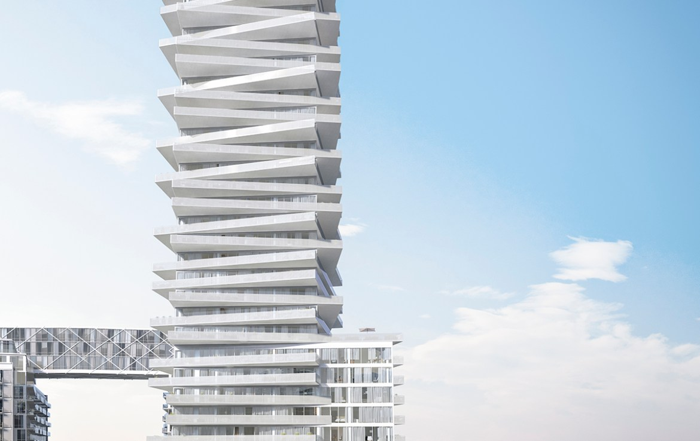 Pier 27 Tower Condos Building View Toronto, Canada