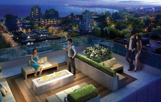 The Berkeley Condos Rooftop Party Toronto, Canada
