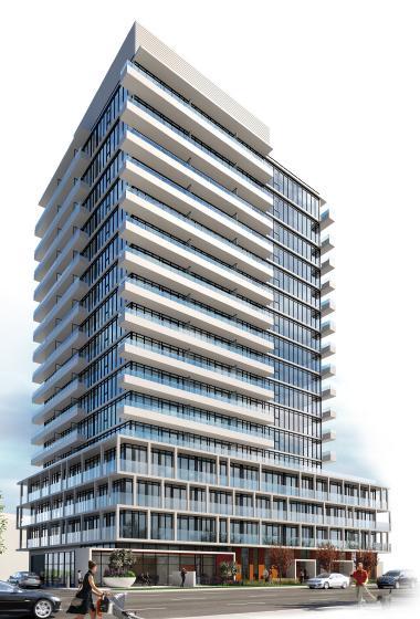 Vivo Condos Building View Toronto, Canada