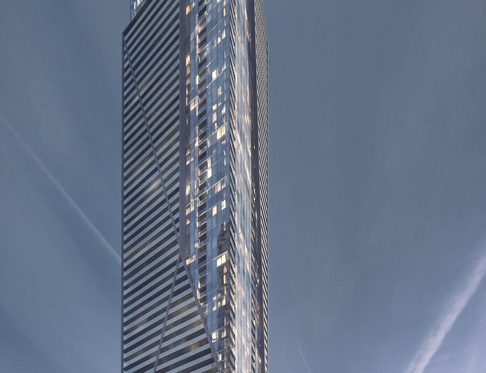 1 Eglinton East Condos Building View Toronto, Canada