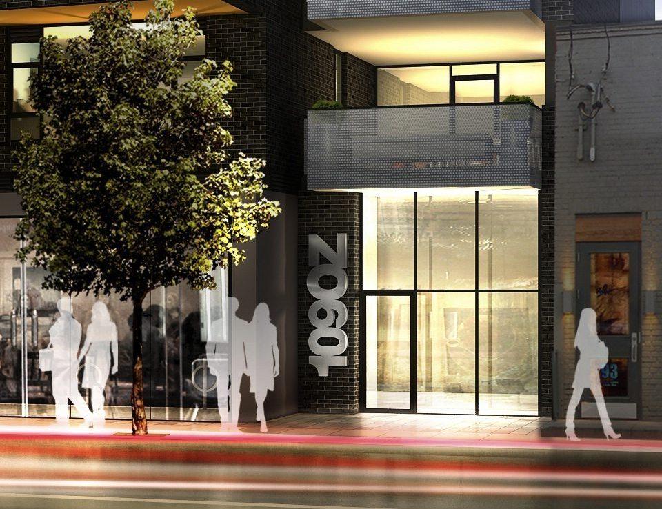 109OZ Condos Entrance Toronto, Canada