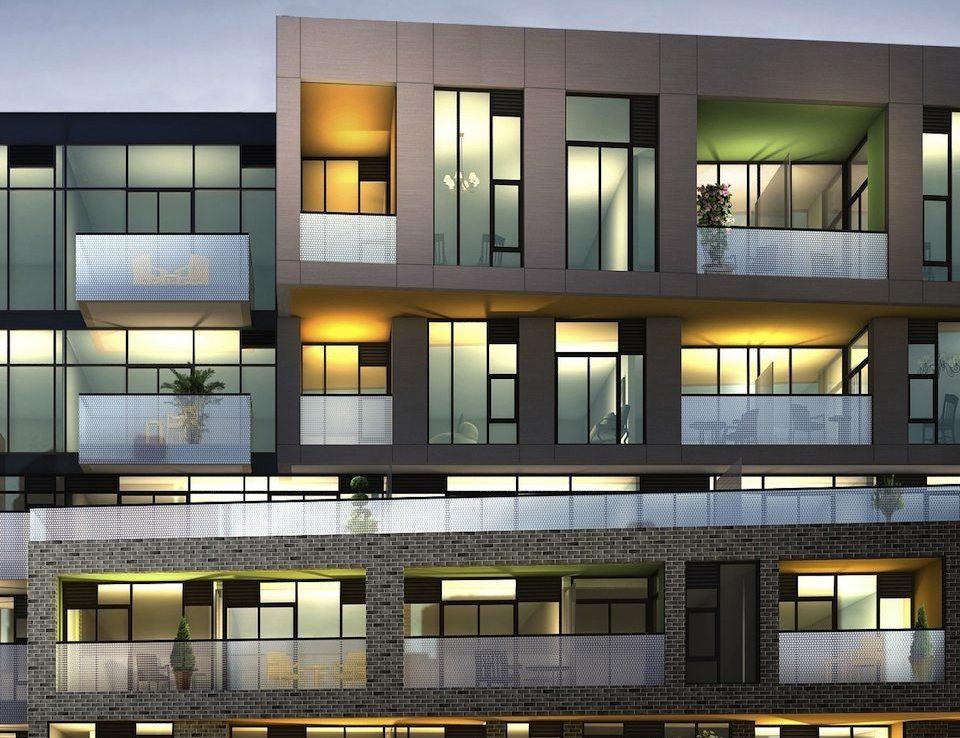 109OZ Condos Balcony View Toronto, Canada